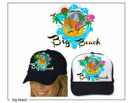 #41 for Baseball Cap Design for Big Beach by zackushka