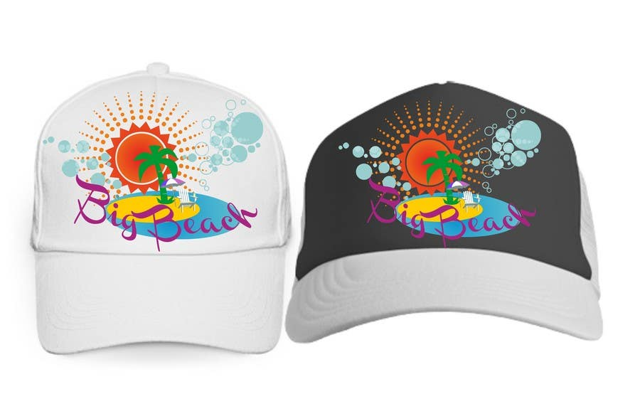 Contest Entry #23 for Baseball Cap Design for Big Beach