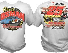 nº 29 pour Design a T-Shirt for Osman Racing par bacujkov