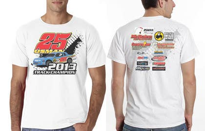 #26 for Design a T-Shirt for Osman Racing by eltorozzz
