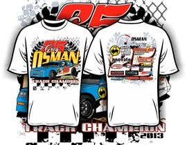 #18 for Design a T-Shirt for Osman Racing by iYNKBRANE