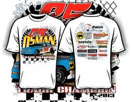 nº 24 pour Design a T-Shirt for Osman Racing par iYNKBRANE