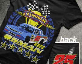 nº 12 pour Design a T-Shirt for Osman Racing par akgallentes