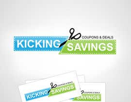 #213 cho Logo Design for Kicking Savings bởi seryozha