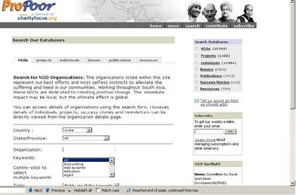 #21 for Find Information from directories of NGOs in Asia Pacific af raveendrawm