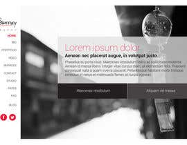 #2 untuk Design a Website Mockup for a Photographer oleh reginayanzon