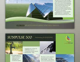 #7 for design of a brochure. autarkic energie. solar by UmeSake