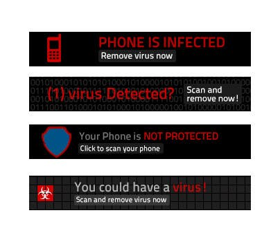 #18 for Design mobile banner for our Android Antivirus APP by chithrarahul
