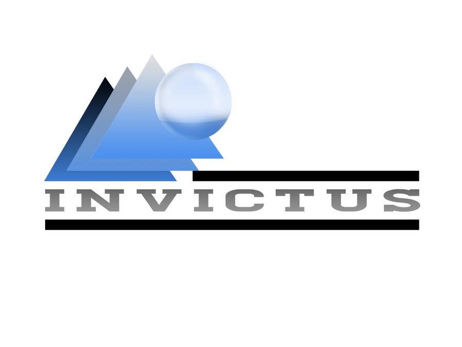 """Kilpailutyö #                                        20                                      kilpailussa                                         Design a Logo for my business group """"Invictus"""""""