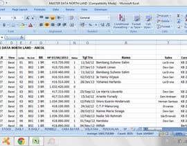 Nro 50 kilpailuun Mengisikan sebuah Lembar Kerja dengan Data käyttäjältä Chiko09