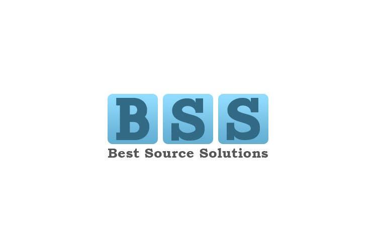 Kilpailutyö #70 kilpailussa Best Source Solutions - logo for cards and web