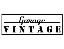 nº 77 pour Design a Logo for Vintage Garage par tanaynash
