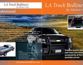 #11 untuk Design a Brochure for LA Truck Bedliners oleh Aleshander