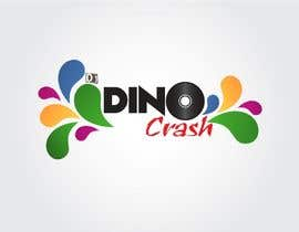nº 13 pour Logo for Dino Crash (DJ) par shipbuilding
