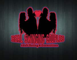 #77 untuk Logo for Adult Dating and Swingers Website oleh HazelReeves