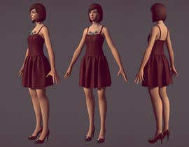 #8 para Design one 3D character with three accessories por nastevski