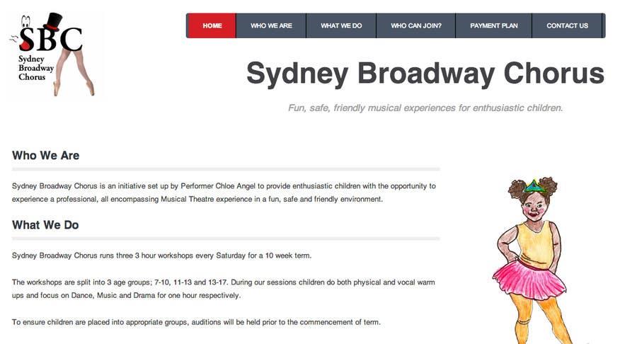 Bài tham dự cuộc thi #                                        4                                      cho                                         www.sydneybroadwaychorus.com