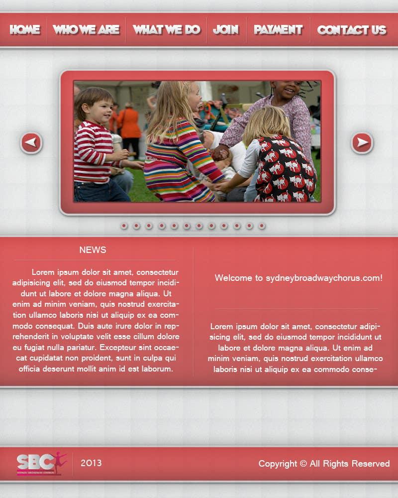 Bài tham dự cuộc thi #                                        16                                      cho                                         www.sydneybroadwaychorus.com
