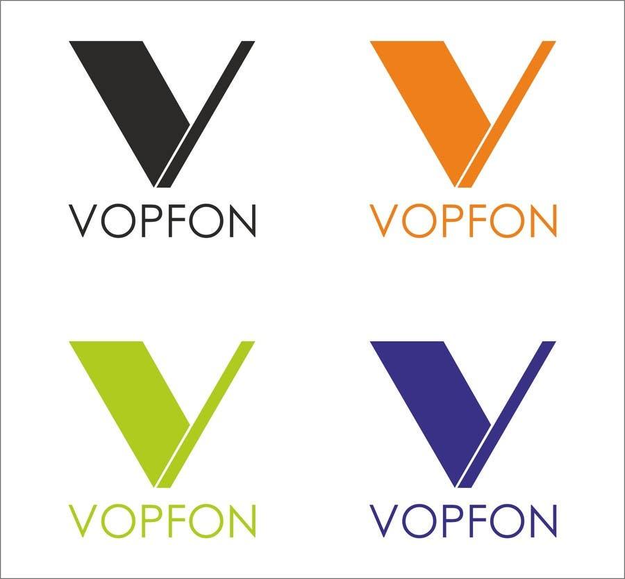 Proposition n°                                        165                                      du concours                                         Design a Logo for VOPFON