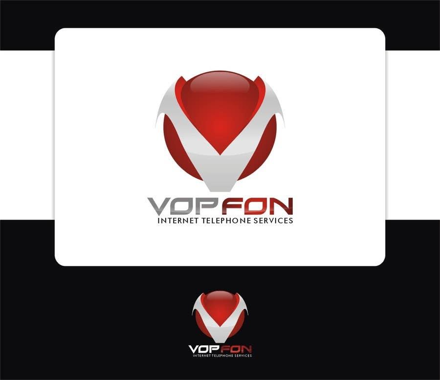 Proposition n°                                        60                                      du concours                                         Design a Logo for VOPFON