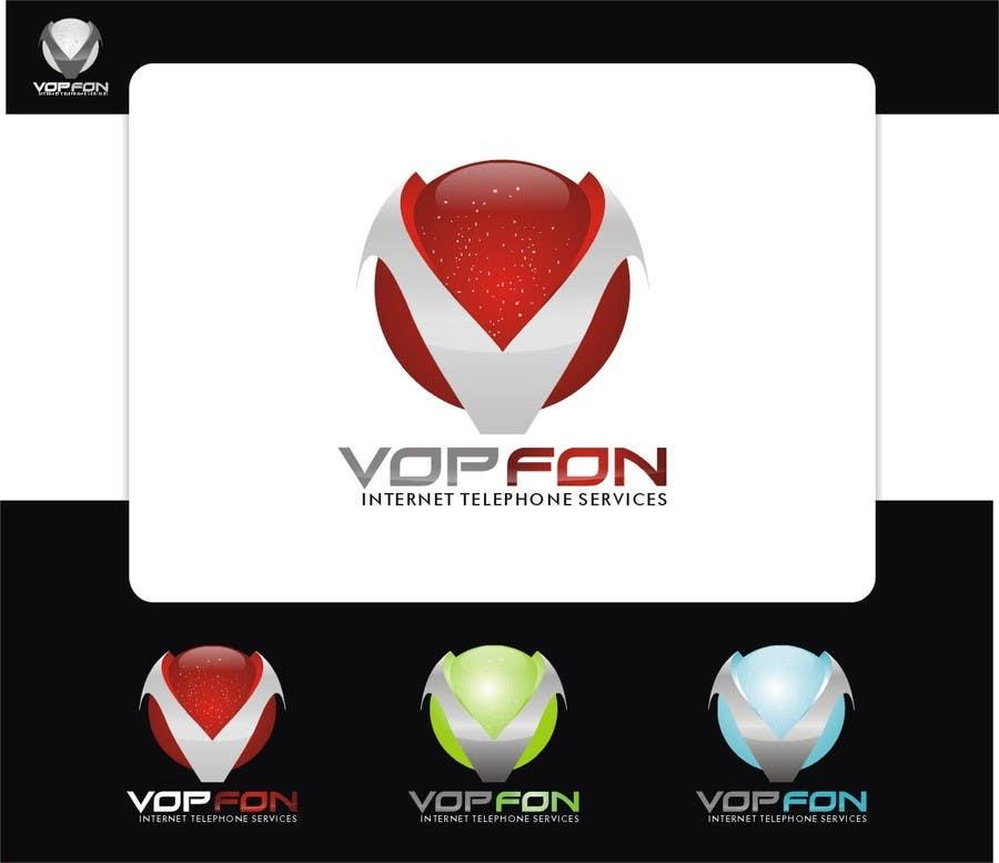 Konkurrenceindlæg #144 for Design a Logo for VOPFON