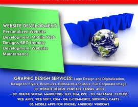 web design flyer one page freelancer