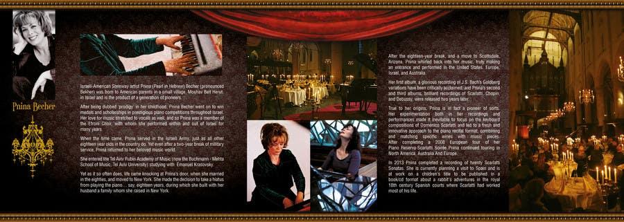 Inscrição nº                                         7                                      do Concurso para                                         I am the newly apppointed agent for a piano show, I need a brochure to help me generate sales B2B