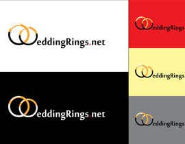 #47 para Logo Design for WeddingRings.net (yes, this is our company name) por raduborzea