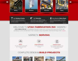#29 for Design a Website Mockup for Utah Fabrication af iNoesis