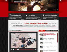 #34 for Design a Website Mockup for Utah Fabrication af iNoesis