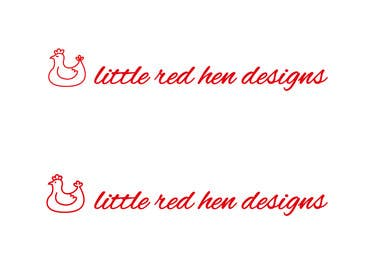 #29 for Design a Logo for Little Red Hen Designs by AnaKostovic27