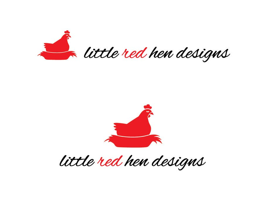 #50 for Design a Logo for Little Red Hen Designs by AnaKostovic27