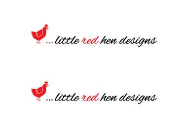 #53 for Design a Logo for Little Red Hen Designs by AnaKostovic27