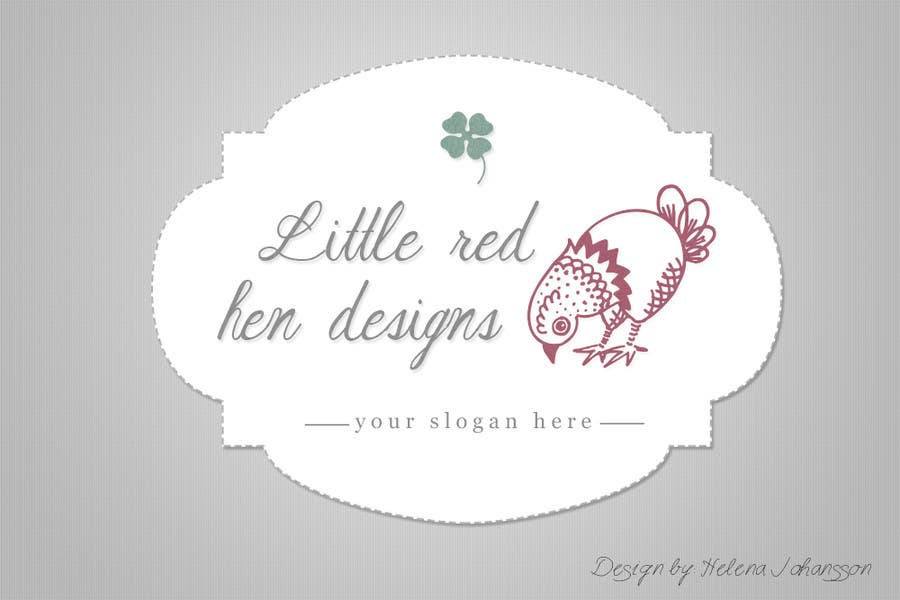 #57 for Design a Logo for Little Red Hen Designs by helenasdesign