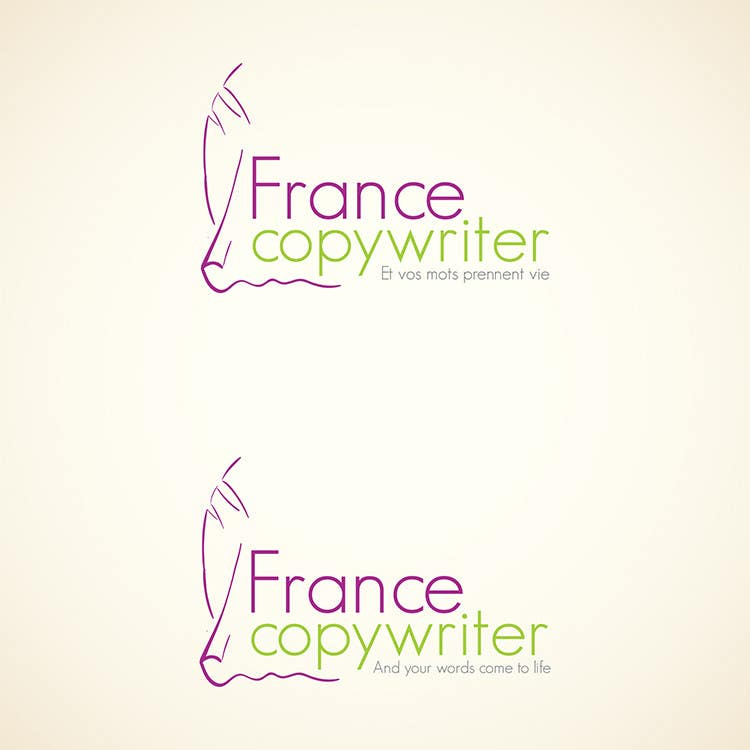 #40 for Require logo and business cards design for:  Francecopywriter (international logo) by Bauerol3