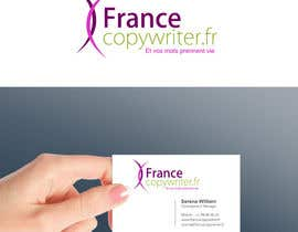 #56 para Require logo and business cards design for:  Francecopywriter (international logo) por smarttaste