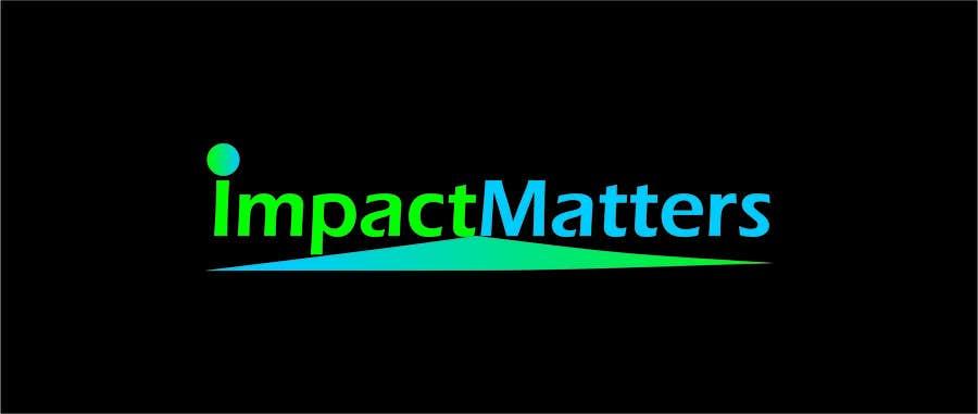 Penyertaan Peraduan #59 untuk Design a Logo for Impact Matters