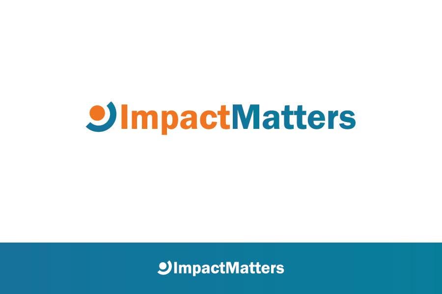 Penyertaan Peraduan #67 untuk Design a Logo for Impact Matters