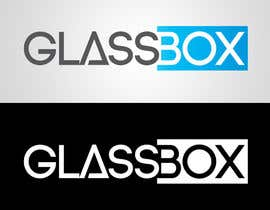 #323 para Clean & modern logo for the name GLASSBOX (international consulting biz) por dindinlx