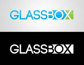 #324 para Clean & modern logo for the name GLASSBOX (international consulting biz) por dindinlx