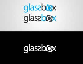 #325 para Clean & modern logo for the name GLASSBOX (international consulting biz) por dindinlx