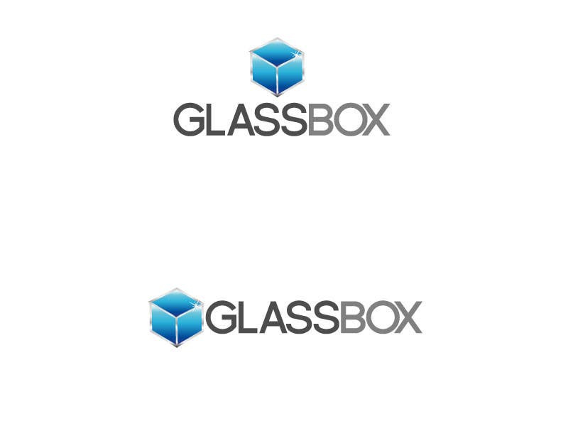 #319 for Clean & modern logo for the name GLASSBOX (international consulting biz) by sooclghale