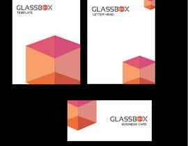 #318 para Clean & modern logo for the name GLASSBOX (international consulting biz) por sangita83