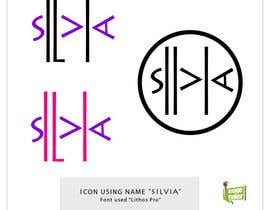 nº 42 pour Design some Icons for the names Silvia and Rocio par amitroy777