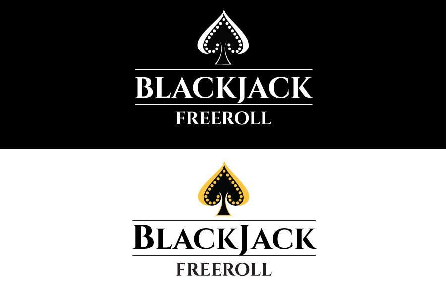 #182 for Design a Logo for Blackjack Freeroll by tudorgandu