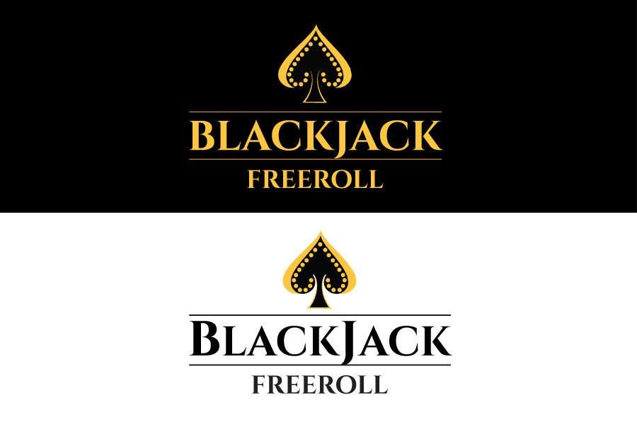 #187 for Design a Logo for Blackjack Freeroll by tudorgandu