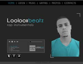 #2 for Design a Website Mockup for Loolooxbeatz af mmorella