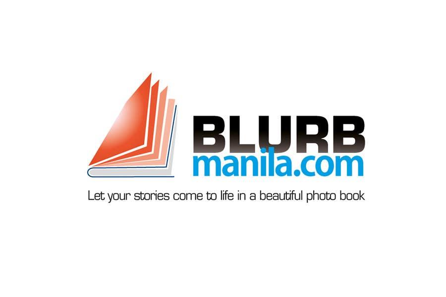 Proposition n°                                        46                                      du concours                                         Logo Design for BlurbManila.com