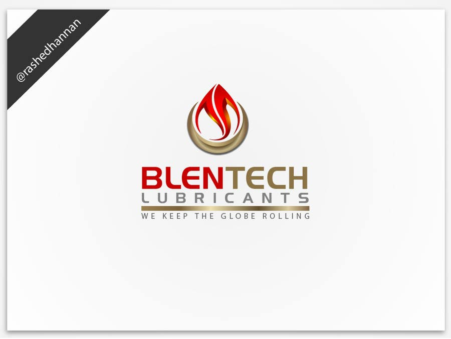 #118 for Graphic Designer Needed to Design a Company Logo for Lubricant Industry by rashedhannan