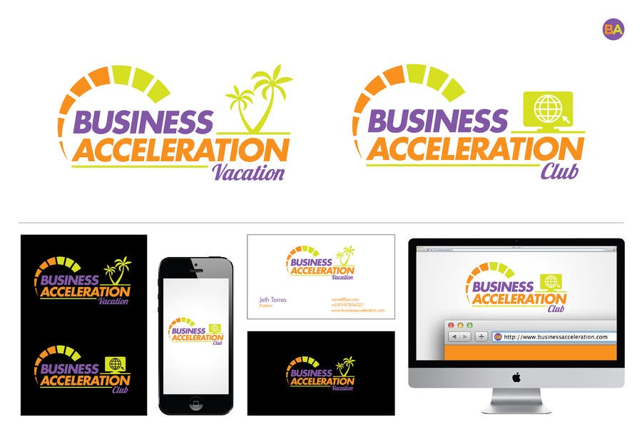 #105 for Design a Logo for Business Acceleration Vacation / Business Acceleration Club by jethtorres